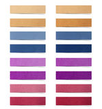 Set of mulberry paper stick Royalty Free Stock Images