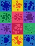 Set Of Blots Stock Images