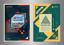 Set of Multi-Purpose Business brochure design layout template. royalty free illustration