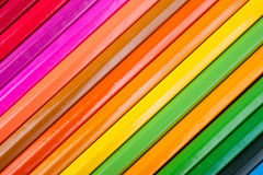 Set of multicolor pencils Royalty Free Stock Photography