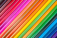 Set of multicolor pencils Stock Photo