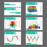 Set of multipurpose presentation infographic Stock Photo