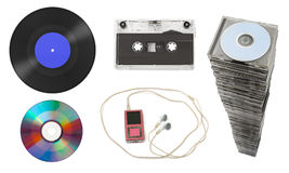 Set of music equipment Royalty Free Stock Photography
