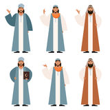 Set Muslims2 Fotografia Royalty Free