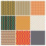 Set Muster Stockbilder