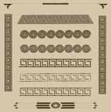 Set Muster für Auslegung Lizenzfreie Stockfotografie