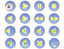Muzyczne ikony (1) Fotografia Stock