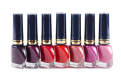 Set of Nail polish Royalty Free Stock Photography