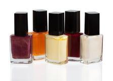 Set of nail polish Royalty Free Stock Image