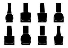 Set of nail polish bottle,. Vector illustration royalty free illustration