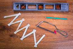 Set narzędzia dla domowego odświeżania Zdjęcia Stock