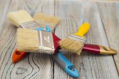 Set narzędzia dla malować dom Zdjęcie Stock