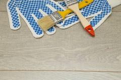 Set narzędzia dla malować dom Fotografia Stock