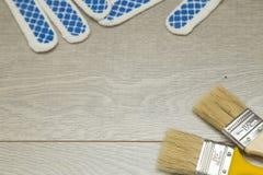 Set narzędzia dla malować dom Obraz Stock