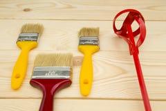 Set narzędzia dla malować dom Obrazy Stock