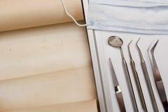 Set narzędzie dentysta Zdjęcie Royalty Free