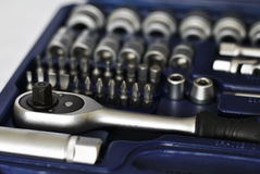 Set narzędzia. Zdjęcie Stock