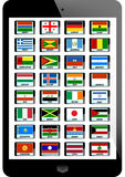 Set of flag Stock Images