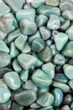 Set of natural mineral gemstones. Of a certain type Royalty Free Stock Photography