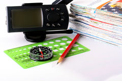 Set for navigation Stock Images