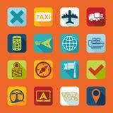 Set of navigation icons Royalty Free Stock Photo