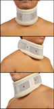 Set Of Neck Support Images Stock Photo