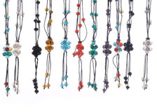 Set of necklace Stock Image