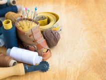 Set for needlework Royalty Free Stock Photo