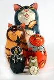 Set of nesting dolls Royalty Free Stock Image