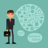 Set for new business presentation Royalty Free Stock Image