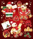 Set New Year's, christmas symbols and elemnts. Stock Photography