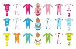 Newborn baby shower Royalty Free Stock Image