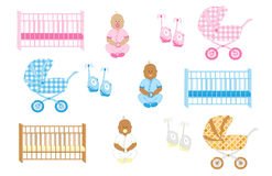 Newborn baby stuff 2 Stock Photography