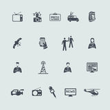 Set of news icons Stock Photography