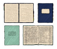 Set of notebooks Royalty Free Stock Image