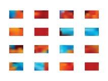 Set nowi tło wzory ilustracji