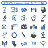 Set number four of Business Icons royalty free illustration