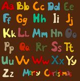 Set ob letters Stock Images