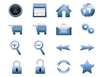 Set of objects Royalty Free Stock Photography