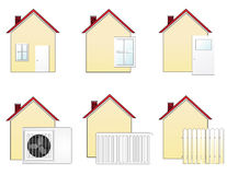 House icons 1 Stock Photos