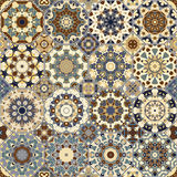 Set of octagonal and square patterns. Stock Photography