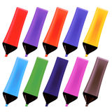Set od Colorful Markers Royalty Free Stock Images