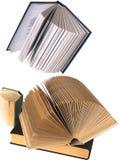 Set od otwartych książek Zdjęcia Royalty Free