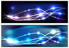 Set of odern abstract backgrounds Stock Photos