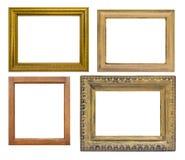 Set odizolowywający rama Obrazy Royalty Free