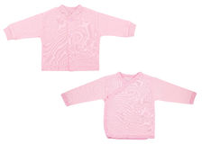 Set odziewa dla dzieci i dzieci, odosobnienie Fotografia Stock