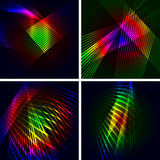Set Of 4 Abstract Vector Backgrounds. Royalty Free Stock Images