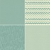 Set Of 4 Seamless Abstract Backgrounds Royalty Free Stock Photos