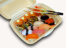 Set Of A Sushi Stock Photography