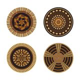 Set Of African Decorative Elements. Tribal Print Stock Photos